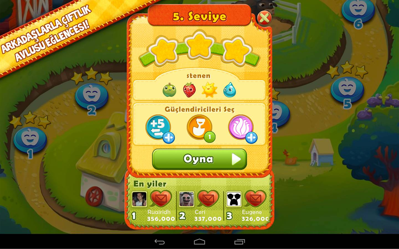 farm heroes saga android apk indir