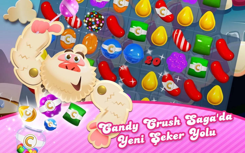 candy crush saga indir