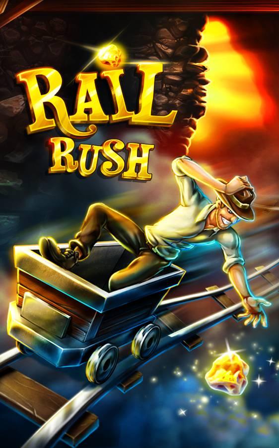 Скачать игру Rail Rush на андроид бесплатно