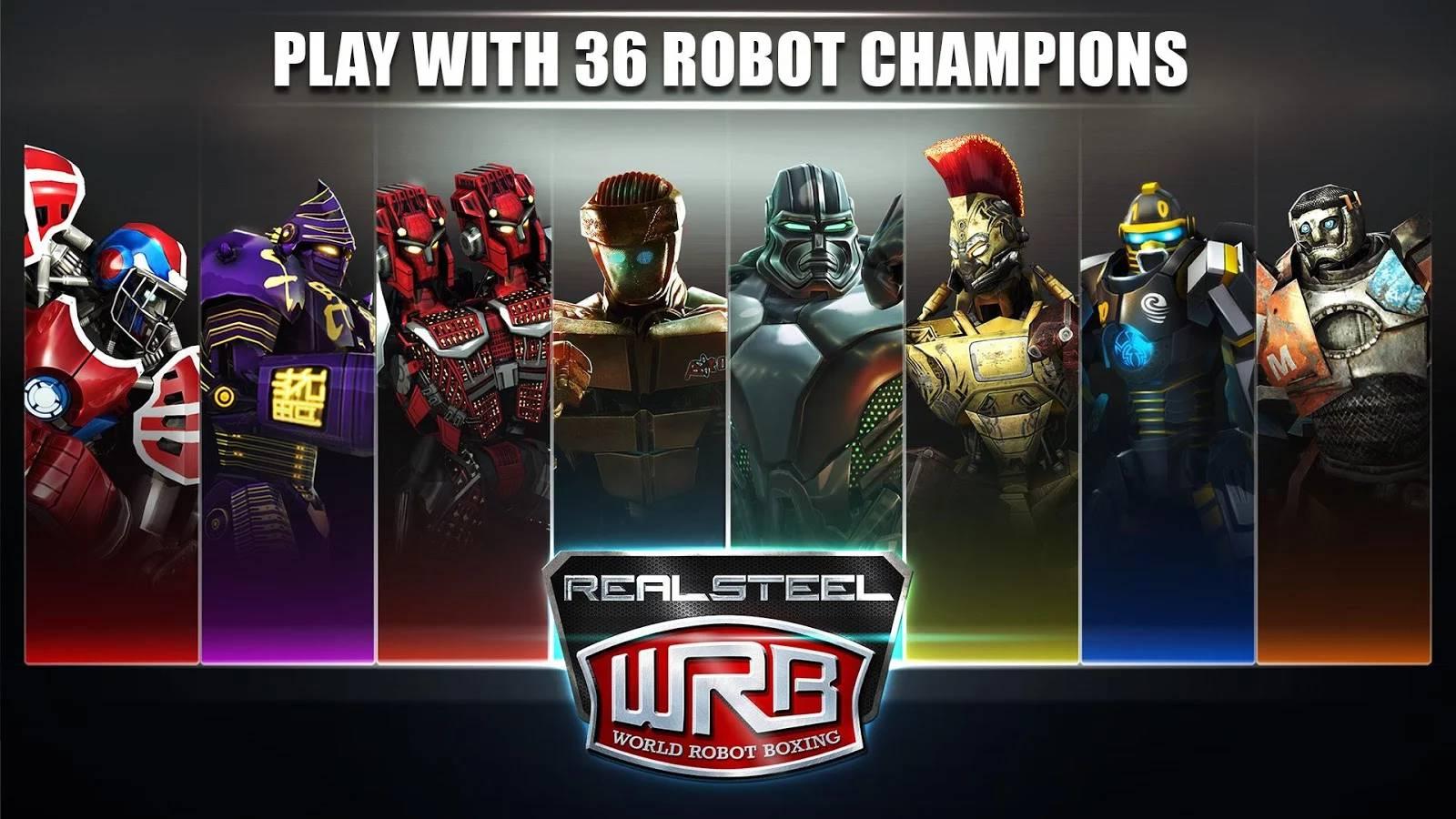 Real Steel World Robot Boxing на андроид скачать бесплатно | Real Steel World Robot Boxing скачать для android телефона, планшета