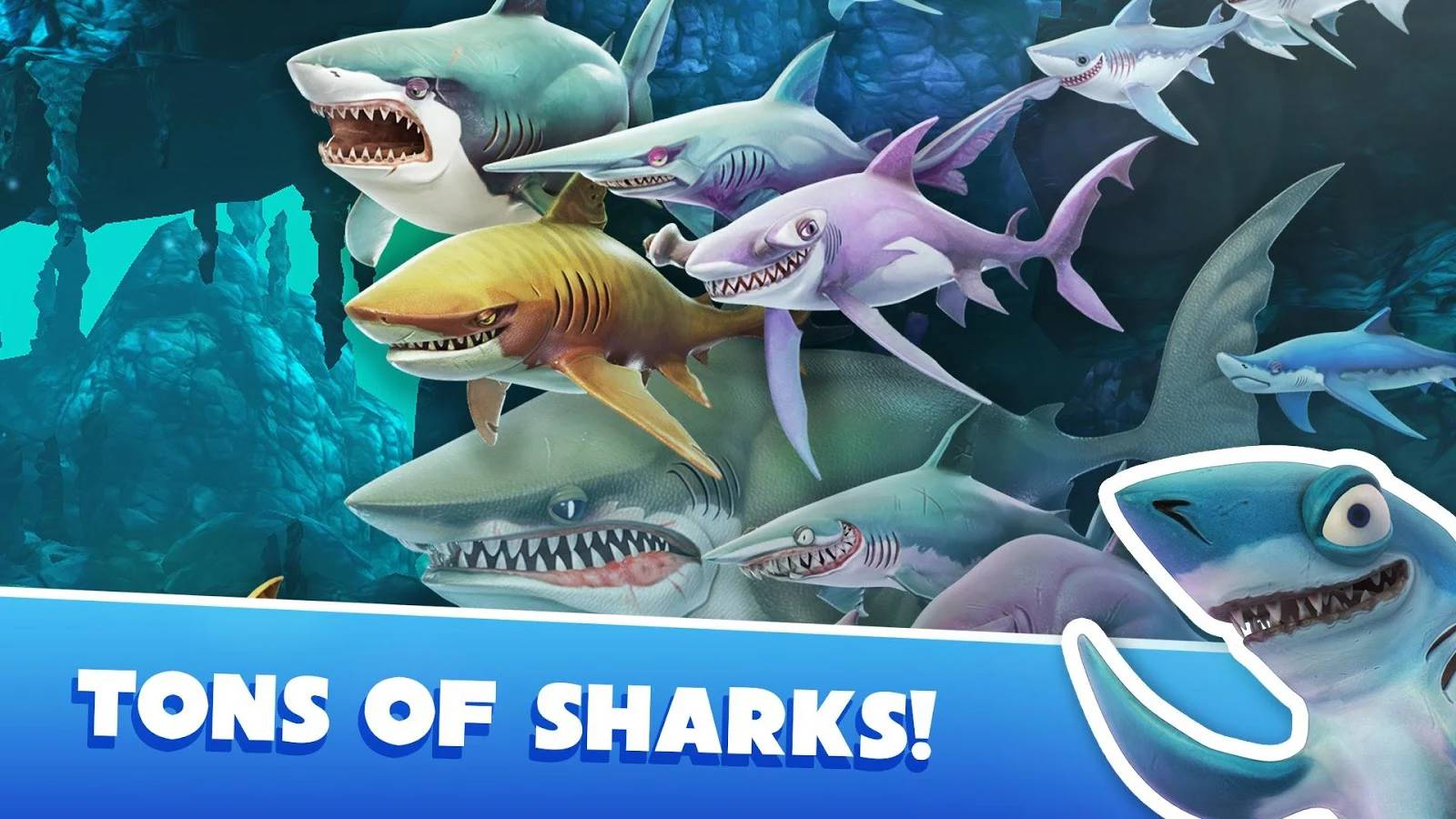 Image Result For Hungry Shark World Apk Moda