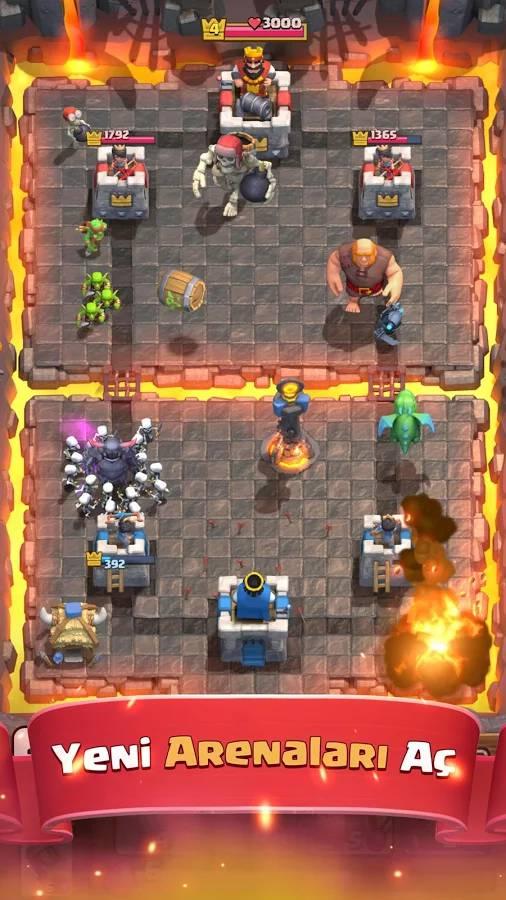 android oyun club clash of clans tas hilesi