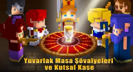 Cube Knight: Battle of Camelot 2.06 Para ve Elmas Hileli Mod Apk indir