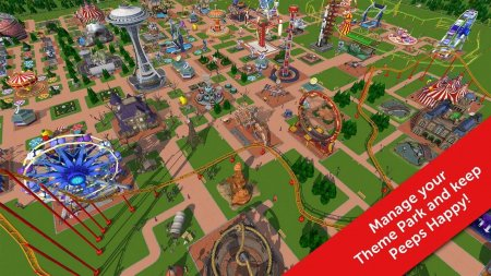 RollerCoaster Tycoon Touch 1.13.3 Para Hileli Mod Apk indir