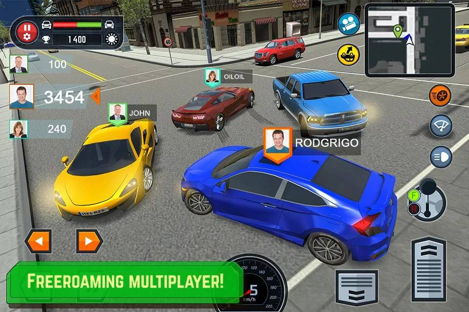 Car Driving School Simulator 1 8 2 Para Hileli Mod Apk