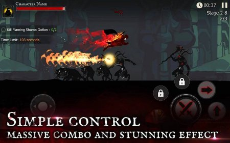 Shadow of Death: Dark Knight 1.57.0.0 Para Hileli Mod Apk indir