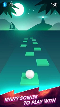 Beat Hopper: Bounce Ball to The Rhythm 3.2.3 Para Hileli Mod Apk indir