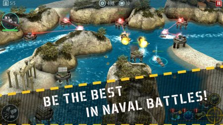 Naval Rush: Sea Defense 1.6 Para Hileli Mod Apk indir