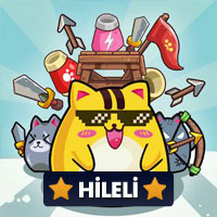 Cat'n'Robot: Idle Defense 1.5.2 Para Hileli Mod Apk indir
