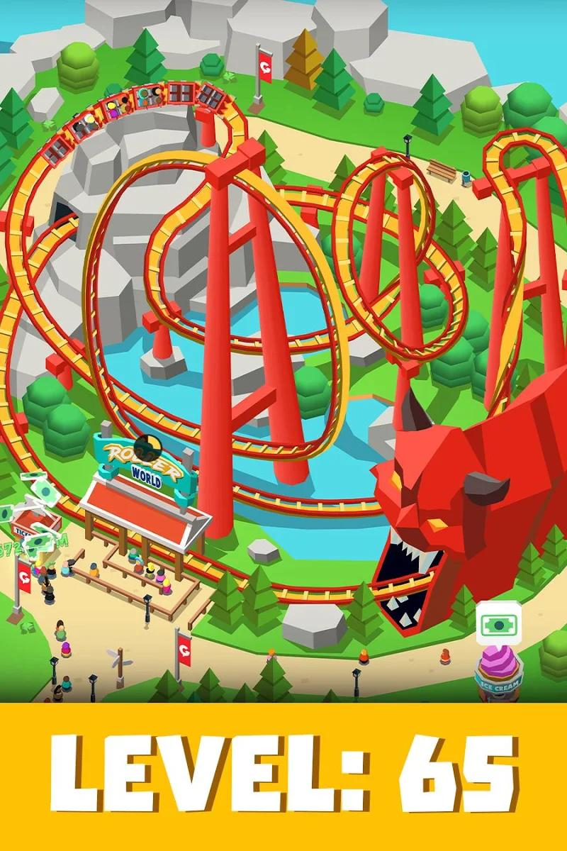 theme park russ apk mod